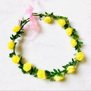 Accessories - Handmade flower crown hippie festival headband